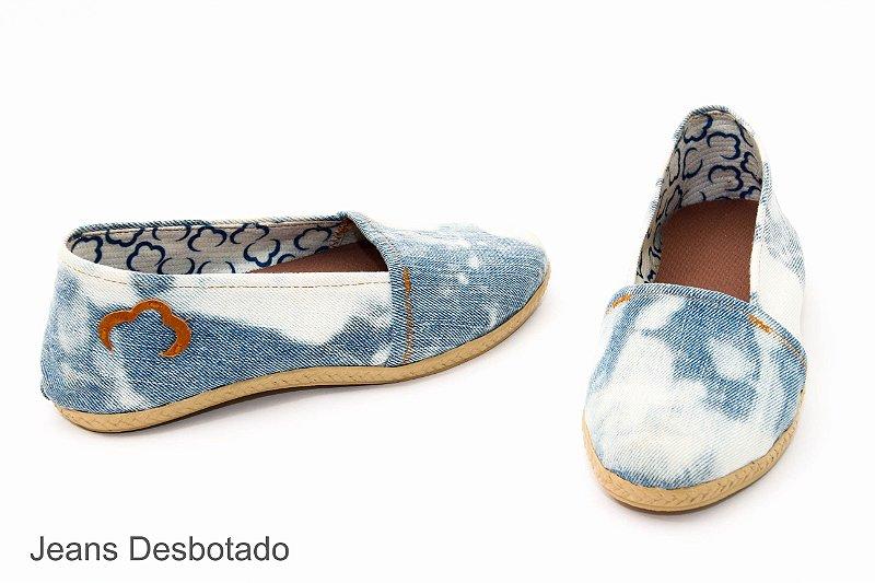 Sapatilha Fashion jeans EcoModas
