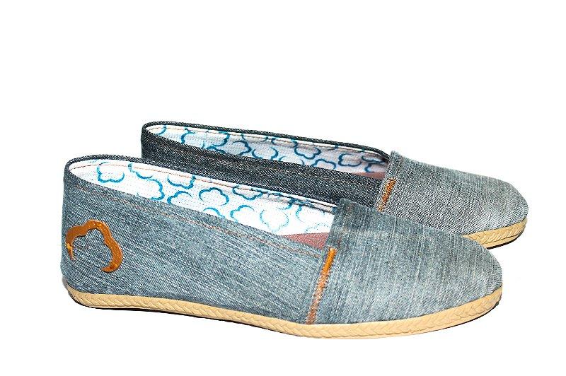 Alpargata Fashion Jeans EcoModas Tam 35