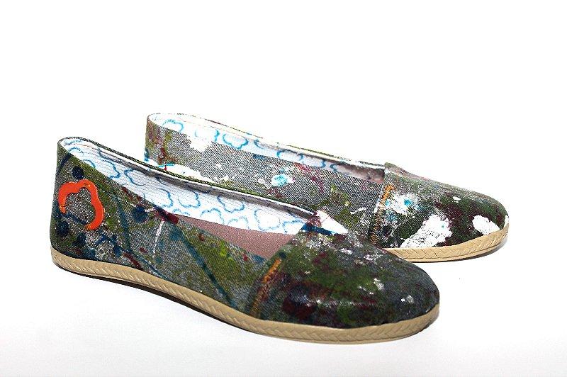 Alpargata Fashion Jeans EcoModas Tam 34