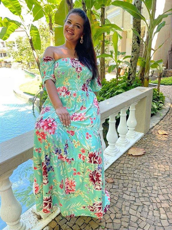 Vestido Jéssica ( Modelagem Ampla que veste do 36 ao 46 )
