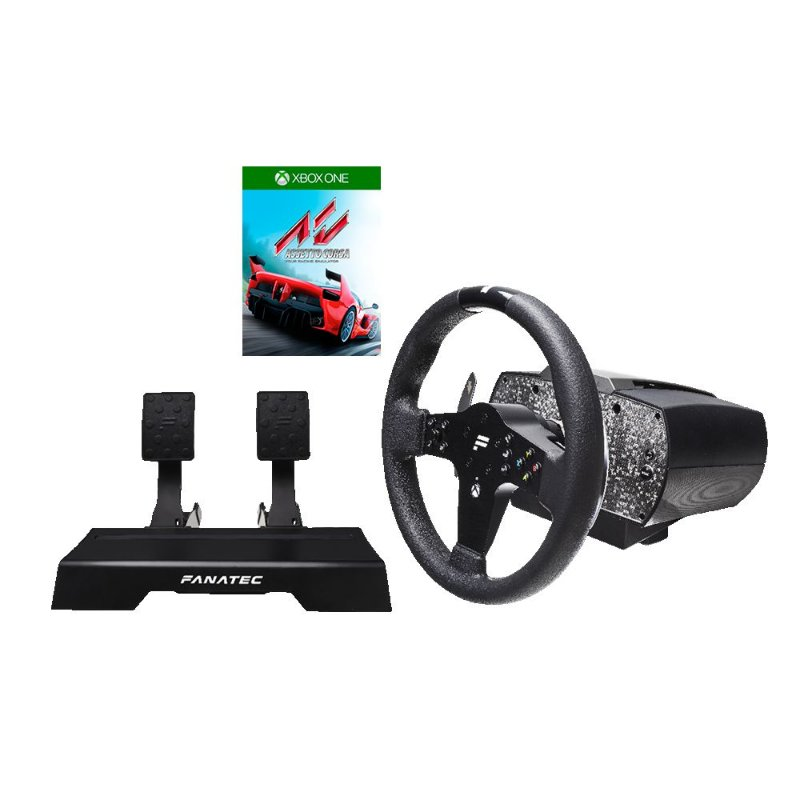 Bundle Fanatec CSL Elite Wheel Starter Pack for Xbox One & PC