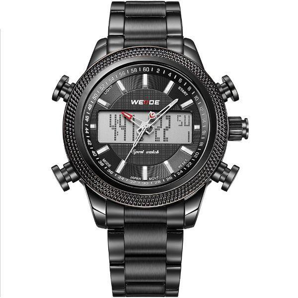 907f16788e7 Relógio Masculino Weide Anadigi WH-3406 Preto - ShopDesconto - Aqui ...