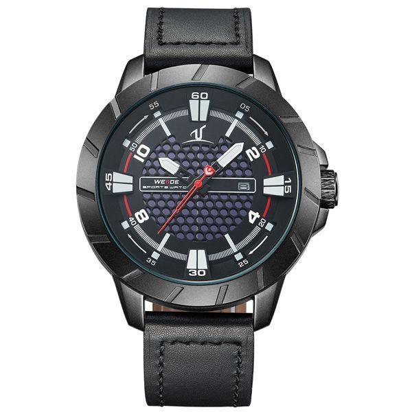 Relógio Masculino Weide Analógico UV-1608 Preto - ShopDesconto ... f54fba4a321aa