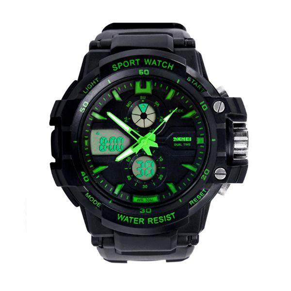 183777b20 Relógio Infantil Skmei Anadigi 0990L Verde - ShopDesconto - Aqui ...