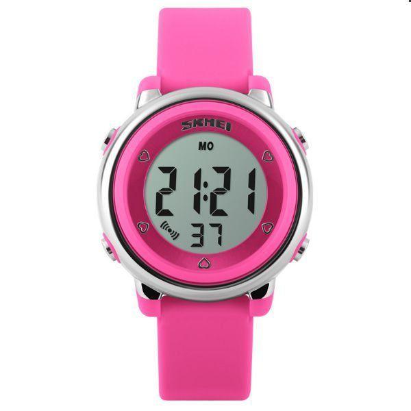 7344251c786 Relógio Infantil Skmei Digital 1100 Rosa - ShopDesconto - Aqui você ...