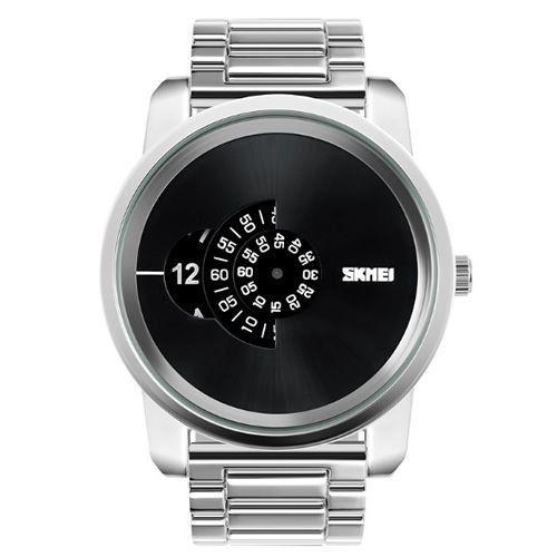9f0fcaa71 Relógio Masculino Skmei Analógico 1171 Prata - ShopDesconto - Aqui ...