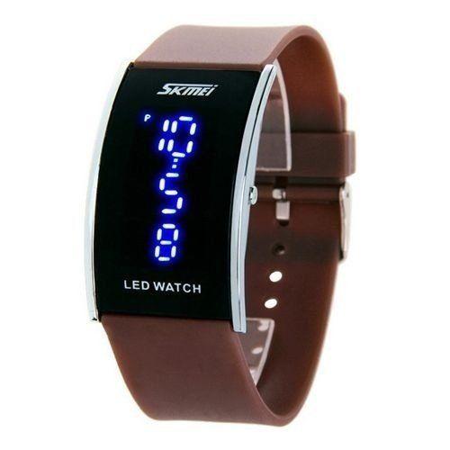 cd878066f53 Relógio Skmei Digital 0805 Marrom - ShopDesconto - Aqui você sempre ...