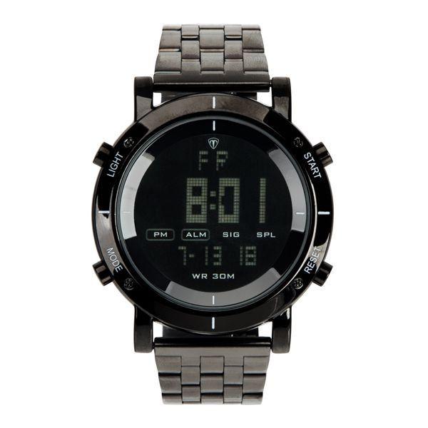 654acb371d2 Relógio Masculino Tuguir Metal Digital TG6017 Preto - ShopDesconto ...