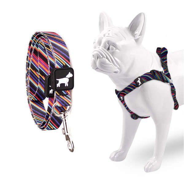 12b9a9d73 Peitoral e Guia Don Dog Techno - Pet Shop Virtual Animal