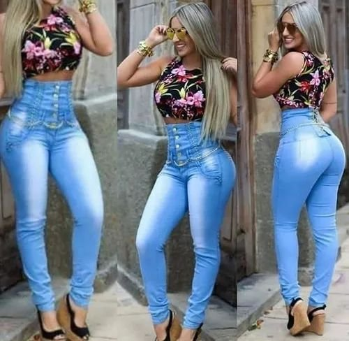 9657bb939 calça jeans cintura alta - Art.p