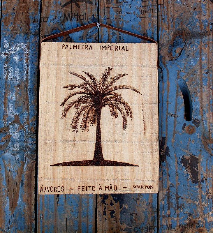 QUADRO PALMEIRA IMPERIAL (COLEÇÃO NATUREZA)