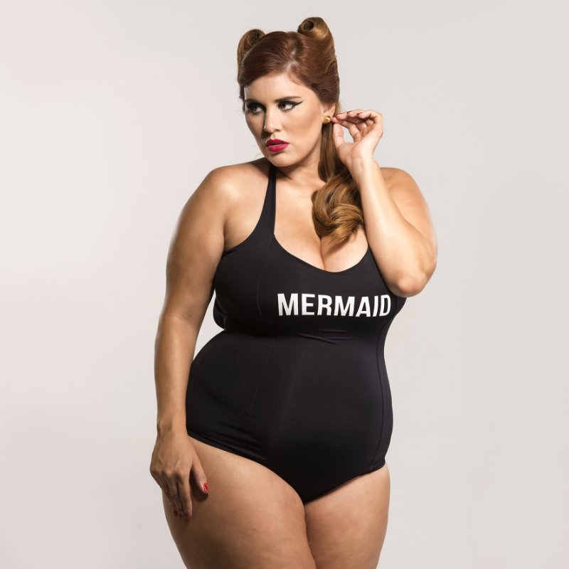 Maiô Plus Size MERMAID