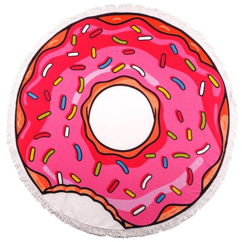 Toalha Canga Redonda - Donut