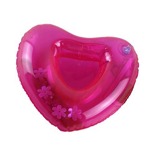 Porta copos inflável coração