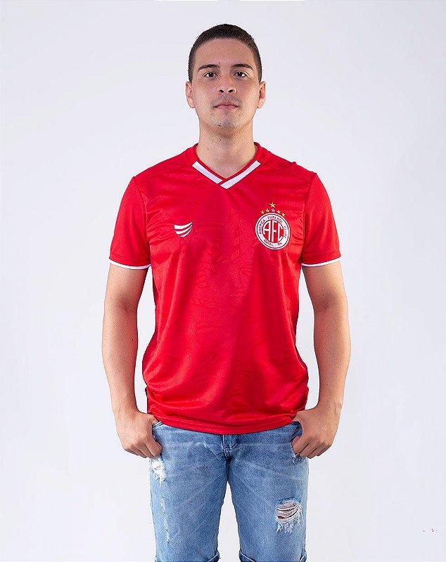 Camisa oficial masculina Super Bola América de Natal Jogo I