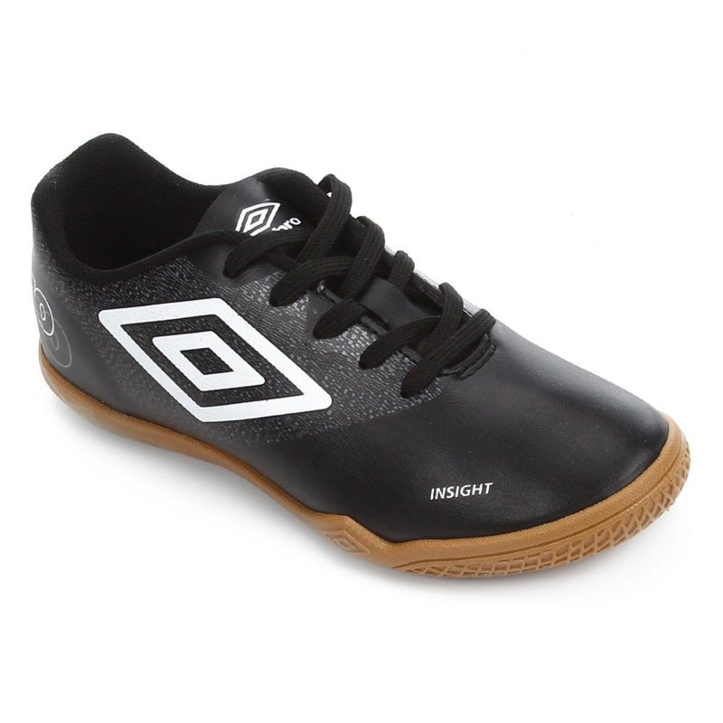TÊNIS FUTSAL UMBRO INSIGHT PRETO JR