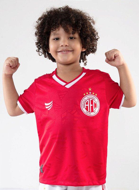 CAMISA OFICIAL AMÉRICA FC SUPER BOLA INFANTIL