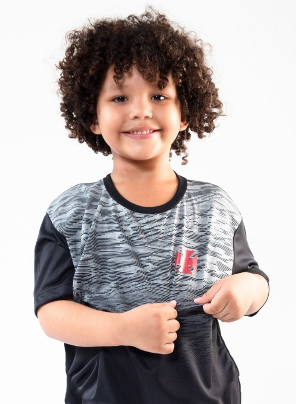 CAMISA VASCO INFANTIL LABEL