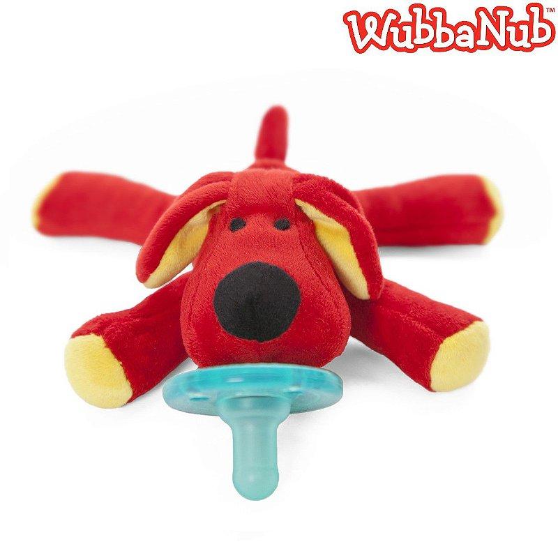 WubbaNub: A chupeta mais fofa que existe! - Cachorro Vermelho (Red Dog)