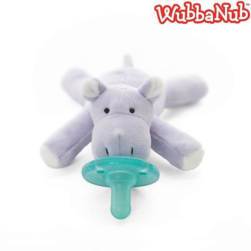 WubbaNub: A chupeta mais fofa que existe! - Hipopótamo (Baby Hippo)