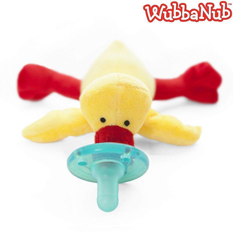 WubbaNub: A chupeta mais fofa que existe! - Pato Amarelo (Yellow Duck)