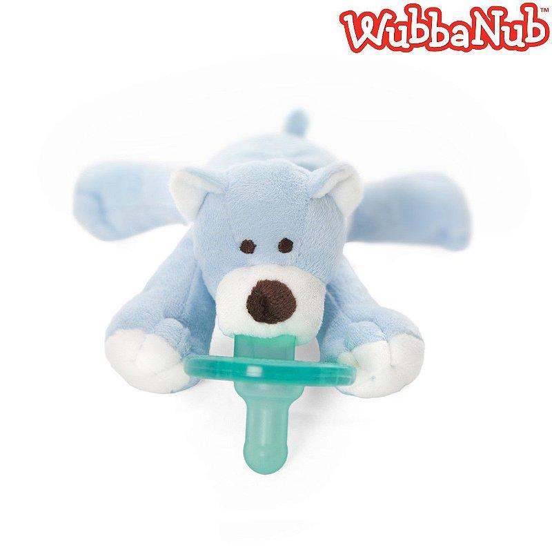 WubbaNub: A chupeta mais fofa que existe! - Urso Azul (Blue Bear)