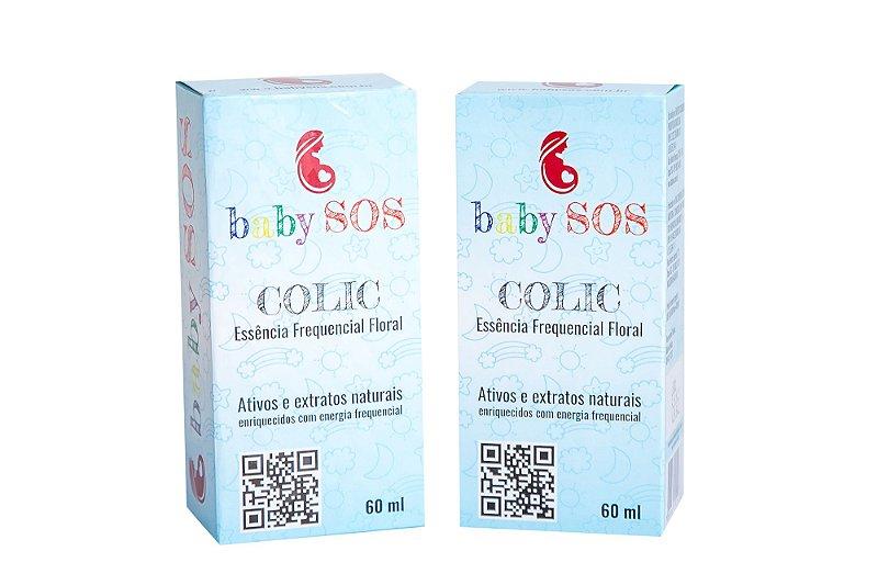 Baby SOS Colic - Alívio Imediato para as Cólicas do seu Bebê (2 unidades)