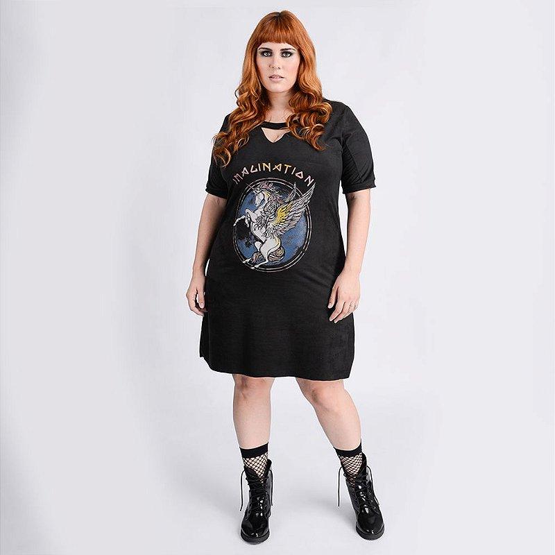 Vestido Imagination - Plus Size