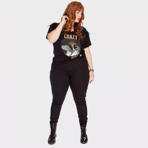 Calça Jeans Skinny - Preta