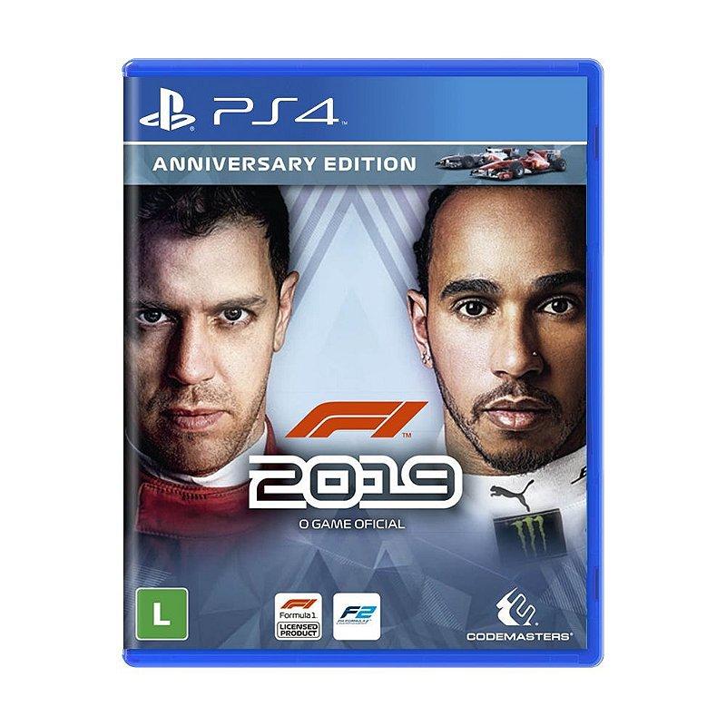 Jogo F1 2019 (Anniversary Edition) - PS4 - Distribuidora ...