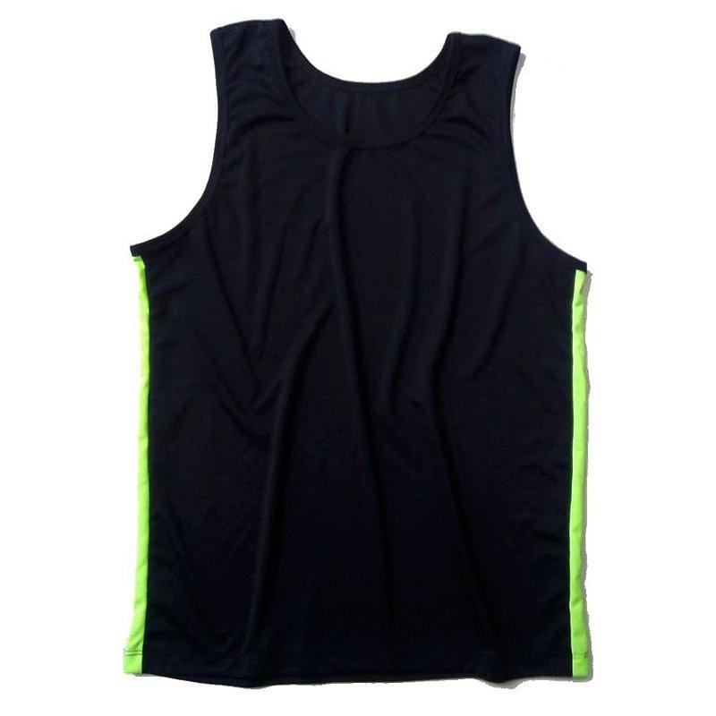 bb1f1b49d1 Camiseta Regata Dry Fit Preta - Loja Marombada - Roupas de Academia ...