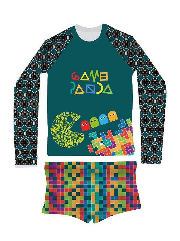 Camisa UV + Sunga - Games