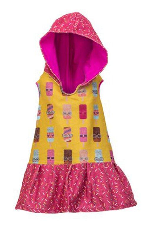 Vestido Toalha - Sorvete