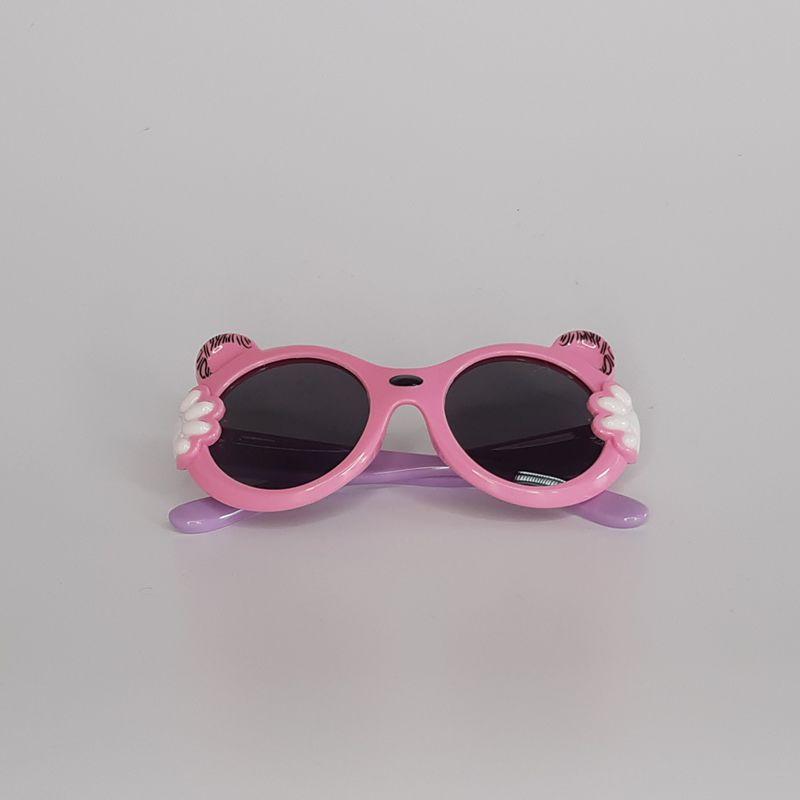 Óculos Gatinha Rosa/Lilás