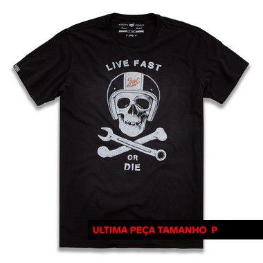 Camiseta Skull Fast