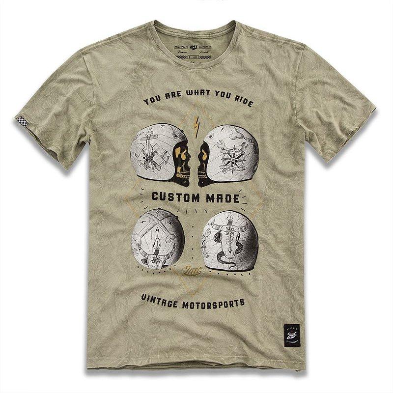 Camiseta Capacete Custom