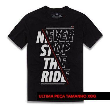 Camiseta Never Stop