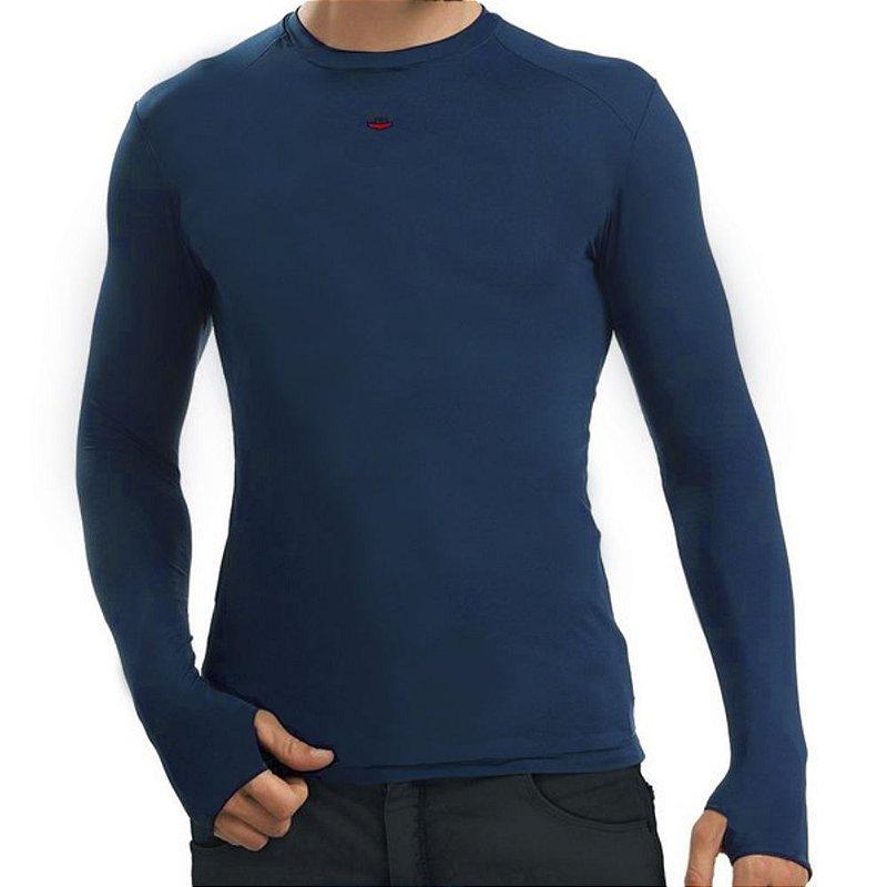 Camiseta Segunda Pele 2mt - Azul Bic