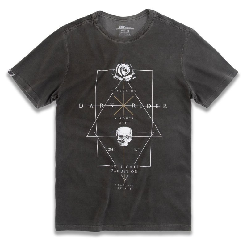 T-SHIRT DARK ROSE