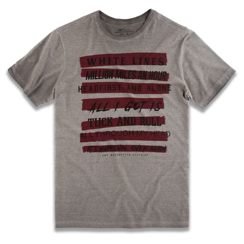 T-SHIRT WHITE LINES