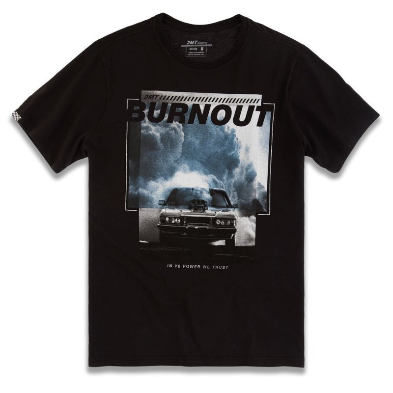 CAMISETA BURN OUT