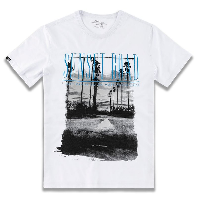 T-SHIRT SUNSET ROAD