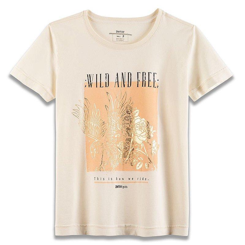 Camiseta Wild and Free