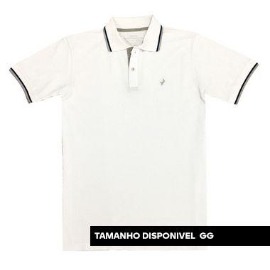 Camisa Polo Texas - Branco