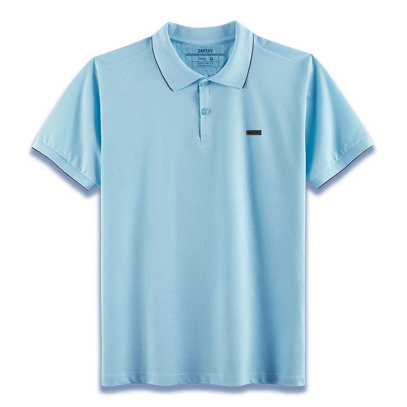 Camisa Polo Edinburgh - Azul Celeste