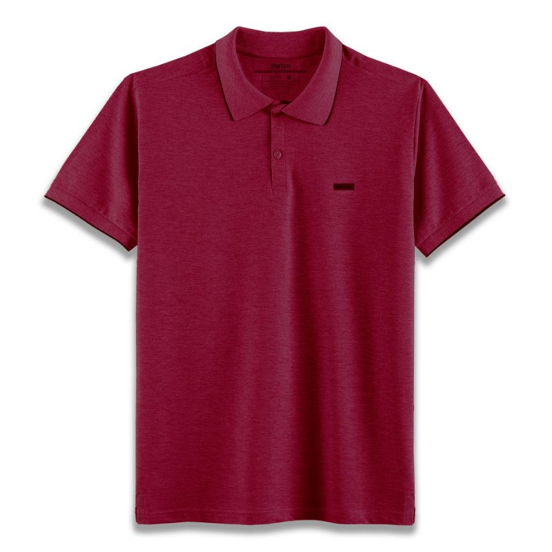Camisa Polo Edinburgh - Vinho