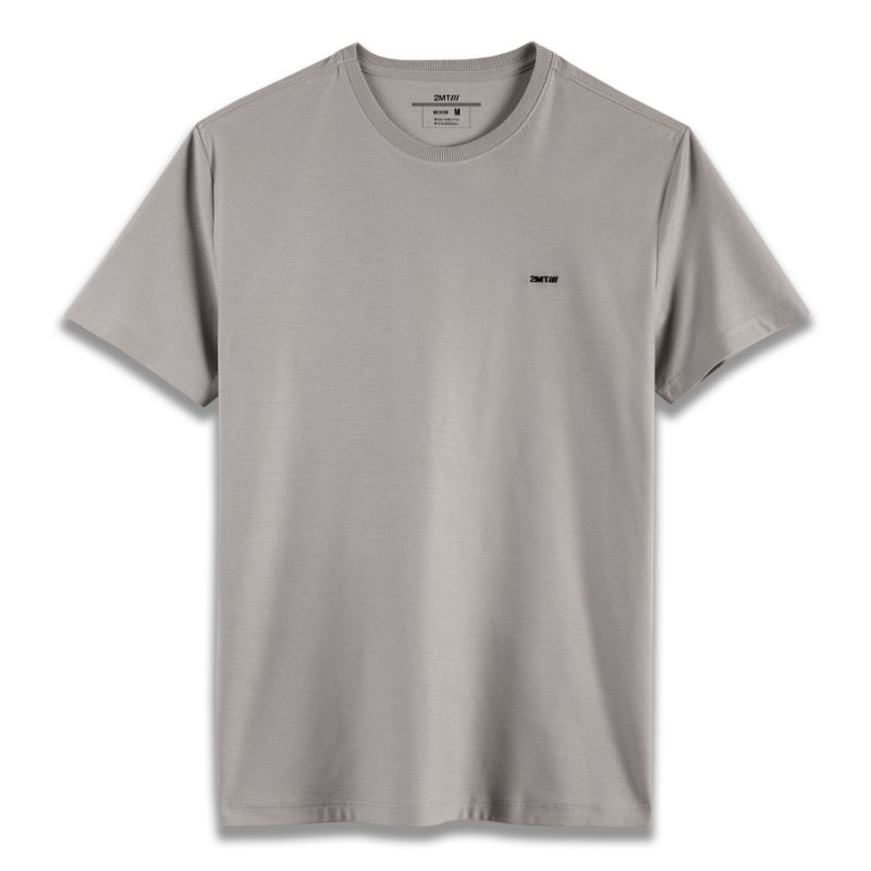 Camiseta Basic Soft - Cinza