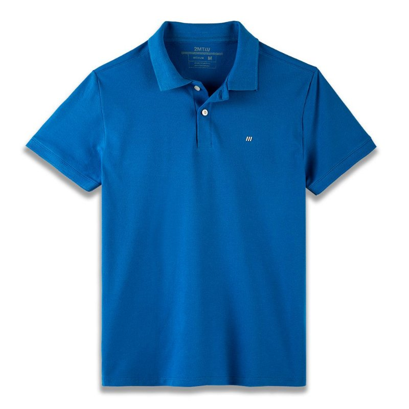 Camisa Polo Palermo - Azul