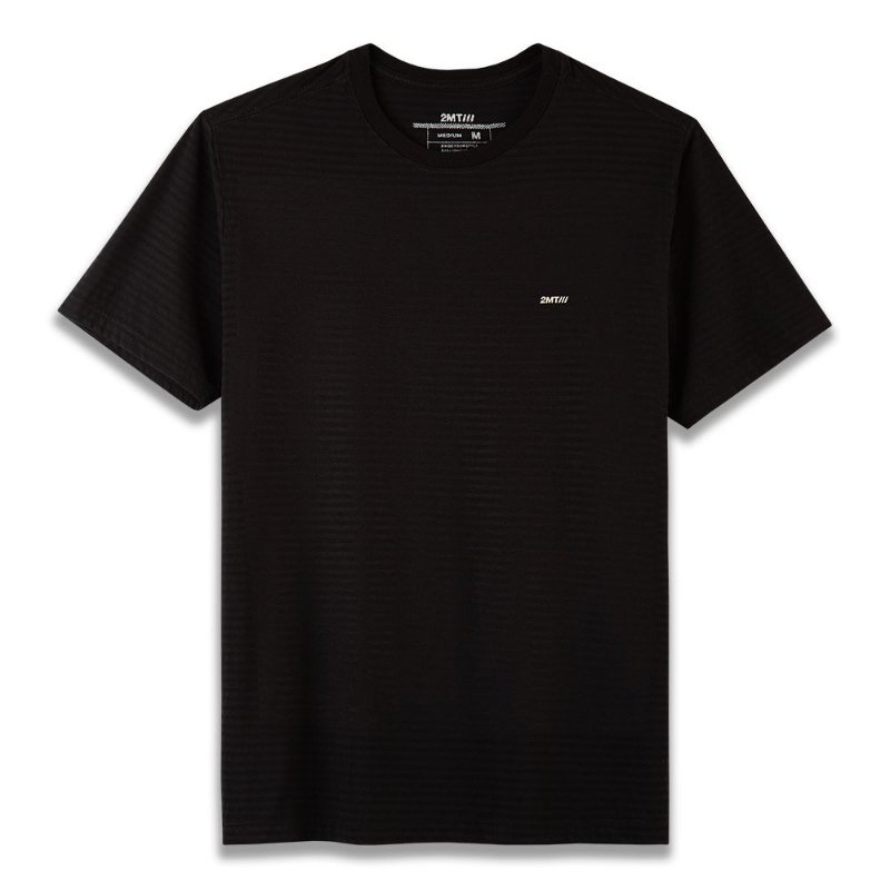 Camiseta Basic Stripes - Preto