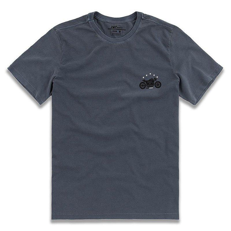 Camiseta Stone Biker - Azul Denim